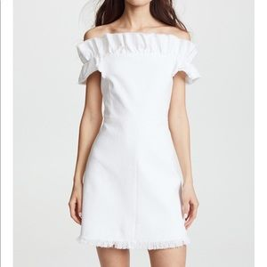Rebecca Taylor Off-the-Shoulder Dress NWT Size 6